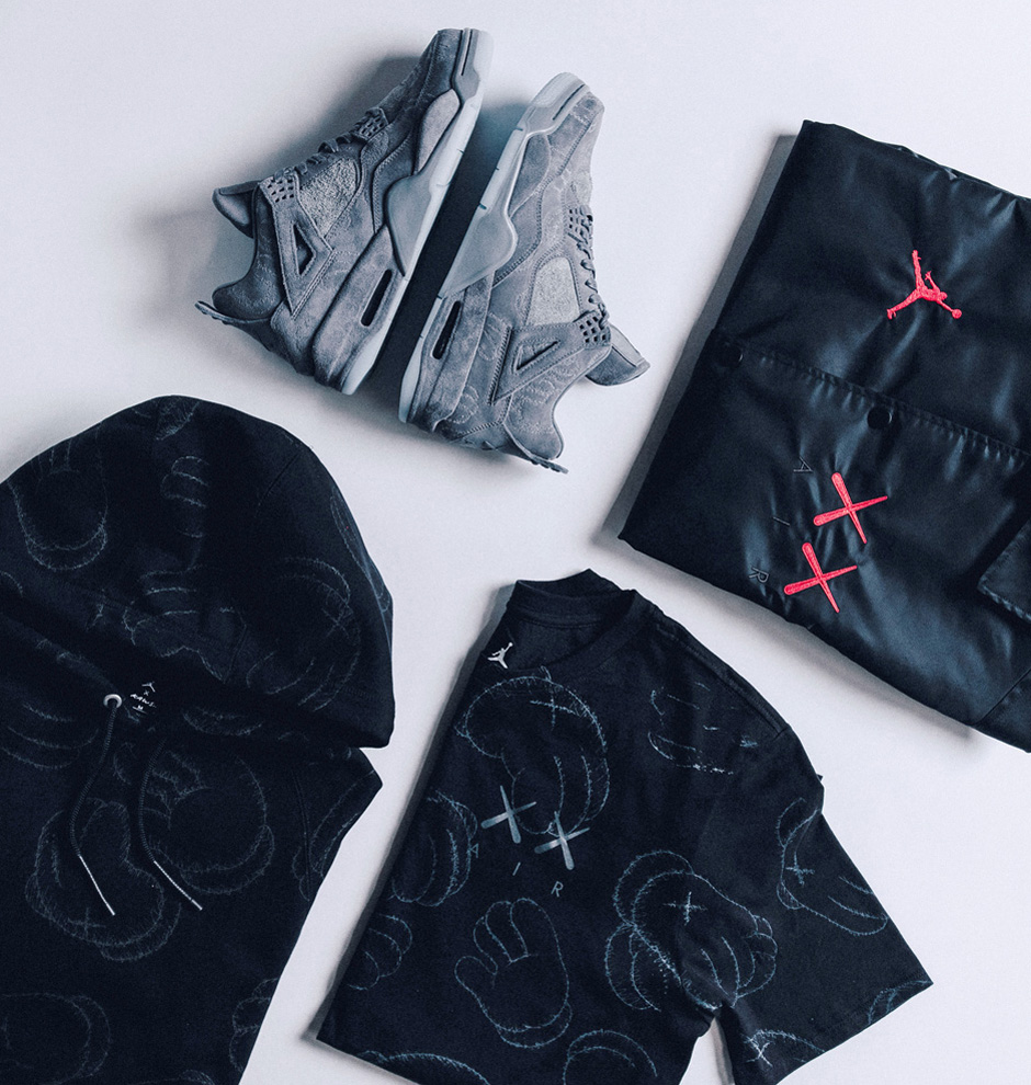 Kaws x Air Jordan 4 Unveiled