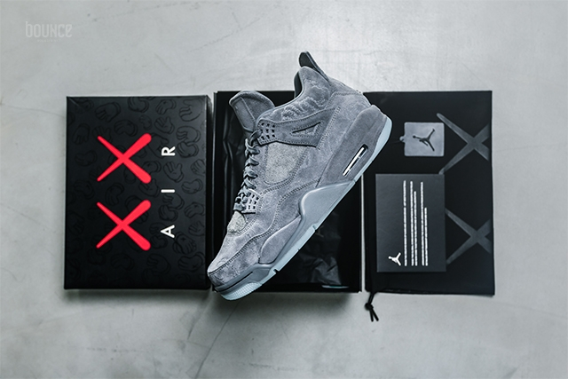 Kaws x Air Jordan 4 Up Close And In Detail