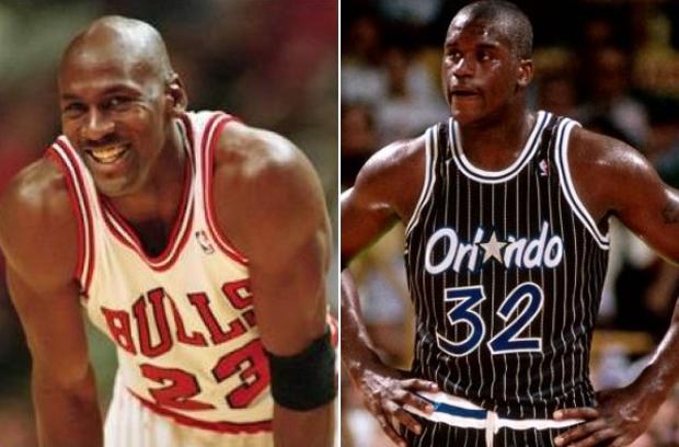 Michael Jordan Blocks Shaquille Oneal 1