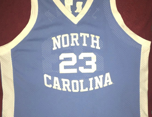 3ffd96ab28d257 Michael Jordan averaged 17.7 points over three seasons and won the 1982  NCAA Championship in this very North Carolina jersey. Well