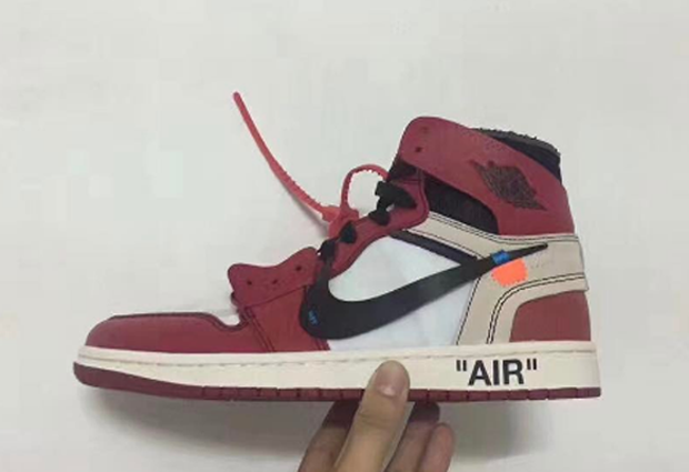 jordan 1 off white collab