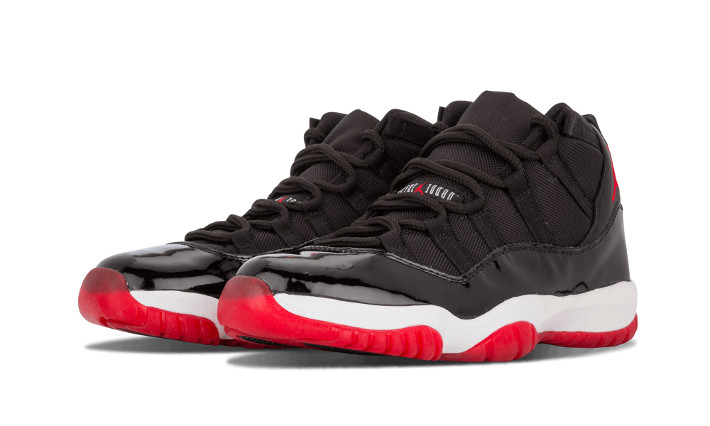 "Just five short years after debuting on the feet of Michael Jordan in the  1996 NBA Playoffs, Air Jordan 11 ""Bred"" hit stores in retro form."