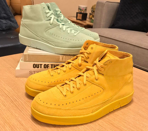 "6f0b365d363 While old school Jordan fans await a true retro of the original Air Jordan 2  ""Home"" from 1987, Jordan Brand is doing interesting things with some  upcoming ..."