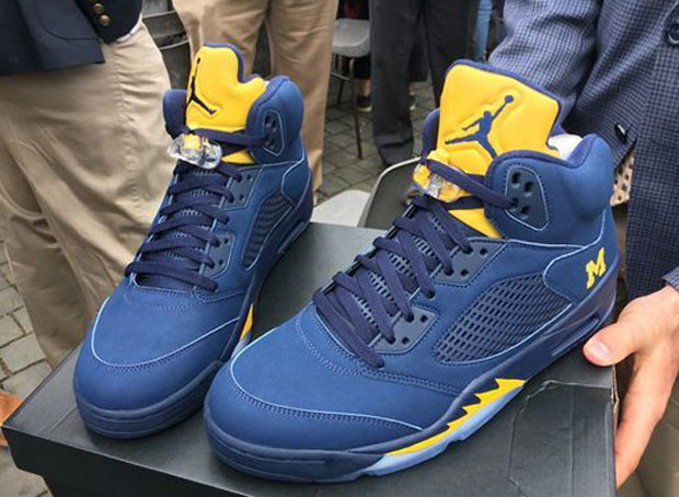 Jim Harbaugh Gifts The Pope Air Jordan 5