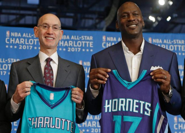 MJ's Charlotte Hornets Will Wear Jordan Brand NBA Uniforms Next Season