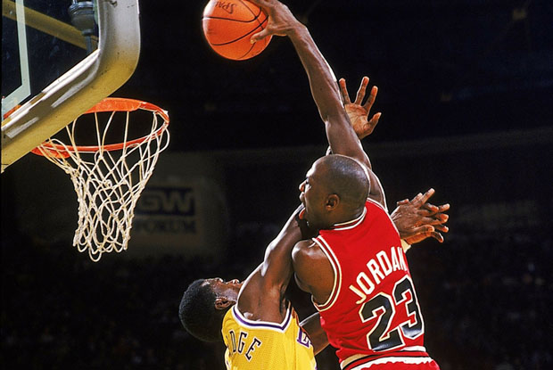 Flashback Friday: Michael Jordan's Best Poster Dunks