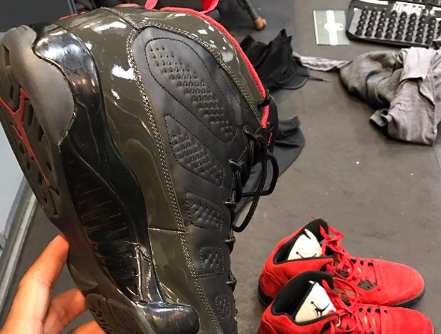 P.J. Tucker's Plan To Wear This Air Jordan 9