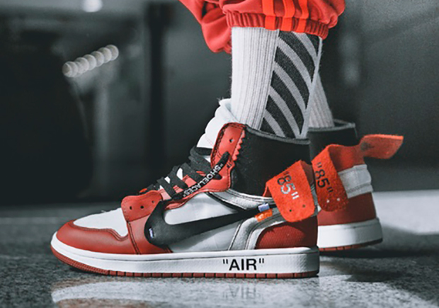 The Latest Detailed Look At Off-White x Air Jordan 1