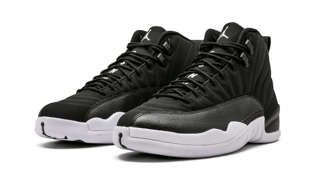 3a8534615ce6 Public School s charcoal grey Air Jordan 12 was pretty tough to get when it  dropped in late 2015. The black and white edition they created just for  friends ...