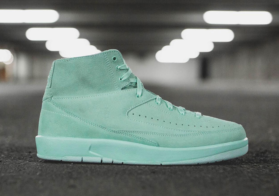 04cd6c78455f40 Air Jordan 2 Deconstructed works with the hand-crafted fit and feel minus  all the extra padding and plastic you can think of.