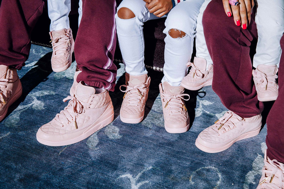 "f02ac5e9308c93 The Just Don x Air Jordan 2 ""Arctic Orange"" will include ladies and kids  sizing"