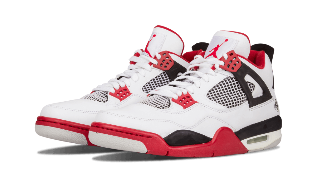 "a77d22aaa63 ... Retro  Though not officially the Air Jordan 4 ""Fire Red"" the first  released in 1989  Nike ..."