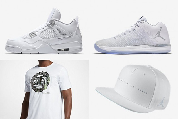 "14965a683347 Did you know Jordan Brand has an entire Pure Money Collection happening  right now  And the apparel and gear isn t all about the Air Jordan 4 ""Pure  Money"" ..."