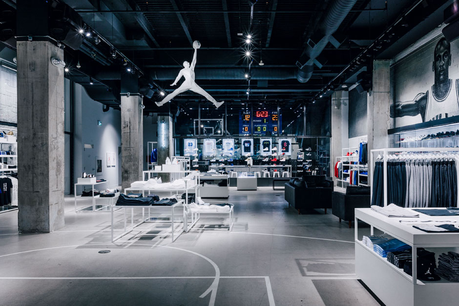 A Look Inside Jordan Brand's 306 Yonge Location In Toronto