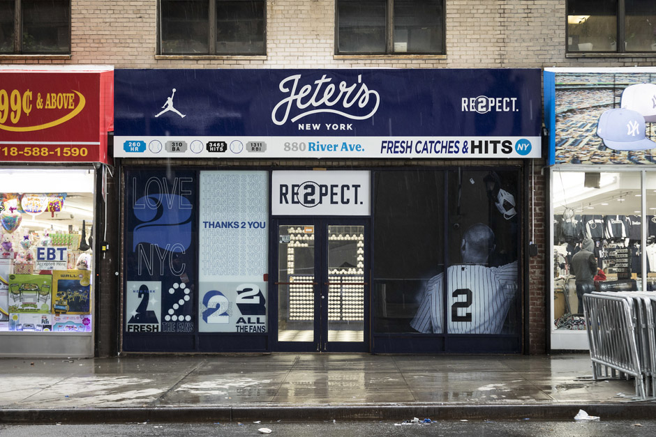 647417b4865063 The New York Yankees aren t the only ones celebrating Derek Jeter s jersey  retirement. Jordan Brand is honoring Mr. November s official entrance into  the ...