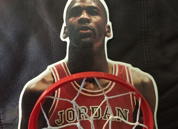 vintage gear michael jordan ohio art toy basketball set