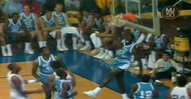 #MJMondays: MJ Shows Off At The 1987 UNC-UCLA Alumni Game