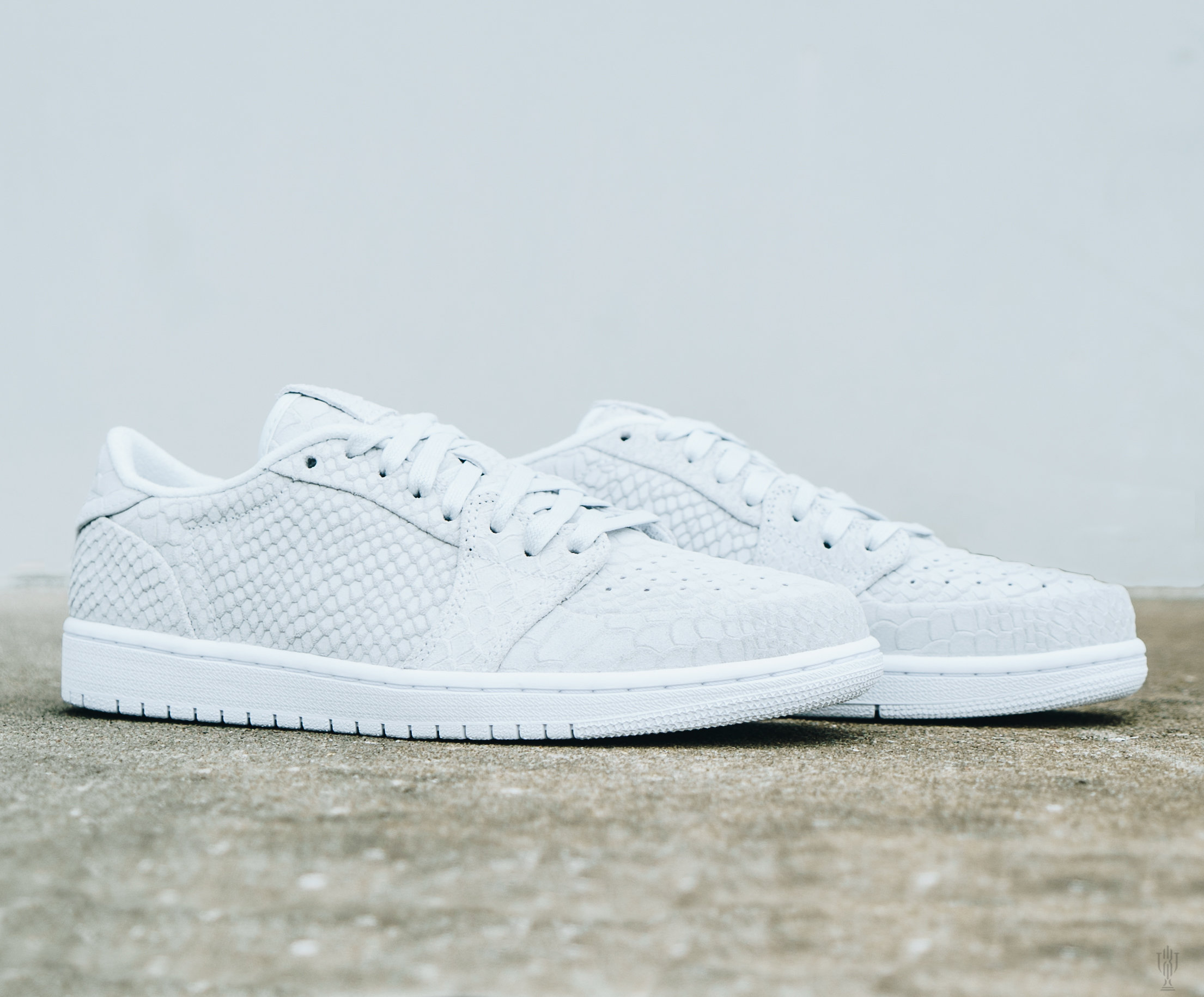 e7ee506bbebf Jordan Brand s foray into more premium lifestyle sneakers continues with Air  Jordan 1 Low Snakeskin. The Swooshless take on this OG silhouette goes with  all ...