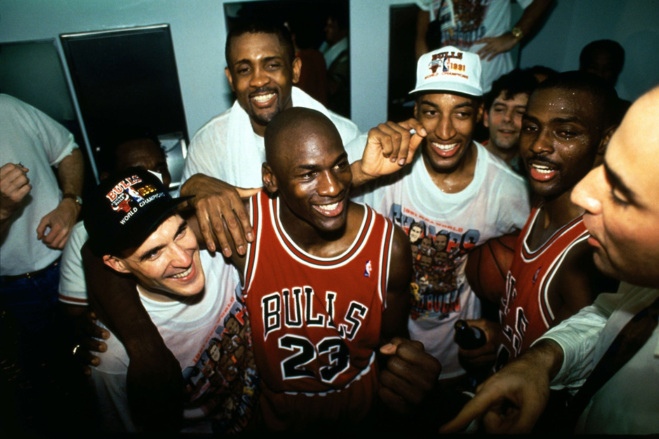 #MJMondays: Michael Jordan Clinched His First NBA Title 26 Years Ago Today