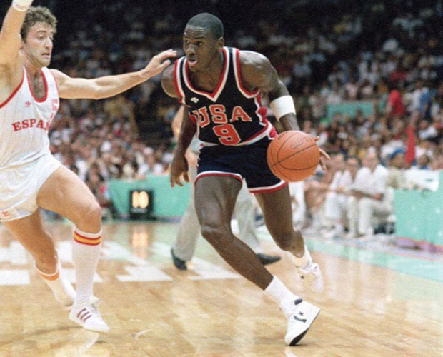 Michael Jordan's 1984 Olympic Shoes Just Sold For A Record $190,373